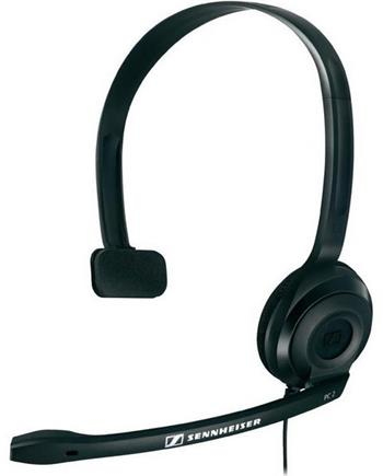 Sennheiser PC 2 CHAT black (černý) headset - 504194