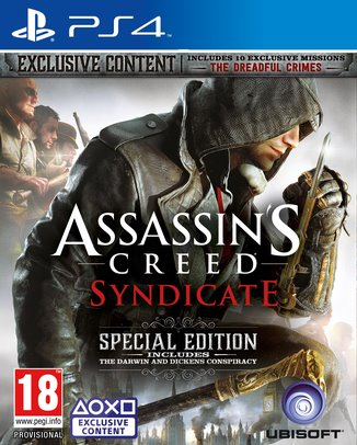Assassin's Creed: Syndicate Special Edition PS4 - 3307215893487