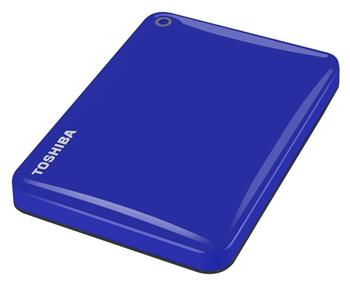 "Toshiba HDD externí Canvio Connect II 2,5"" 500GB, USB 3.0, modrý - HDTC805EL3AA"