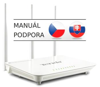 Tenda D301 Wireless-N ADSL2+ Router - D301