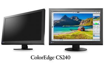 "EIZO 24""LCD CS240-BK, IPS, 1920x1200, 350 cd / m2, 1000 : 1, DVI,HDMI,Disp.P, černý - CS240-BK"