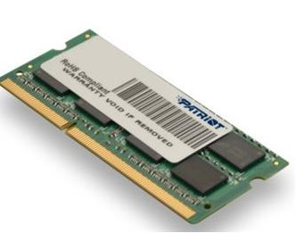 SO-DIMM 4GB DDR3-1333MHz PATRIOT CL9 DR - PSD34G13332S