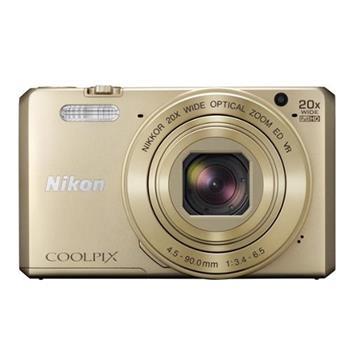 Bazar NIKON COOLPIX S7000 Gold vystaveny kus - VNA802K002