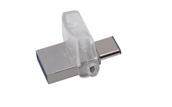 Kingston DataTraveler microDuo 3C 32GB USB 3.0/3.1 - DTDUO3C/32GB