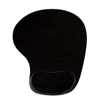 Podložka pod myš-Ergonomická černá - gelová PD-424 220 x 200 x 20 mm - PD-424