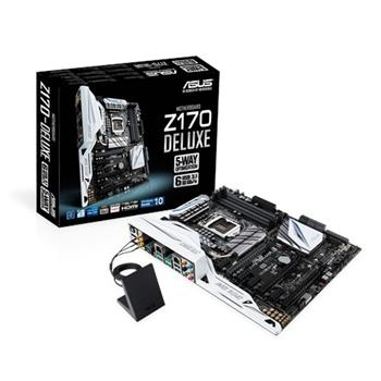 ASUS Z170-DELUXE, Intel Z170, 1151, 4×DDR4, ATX - 90MB0LR0-M0EAY0