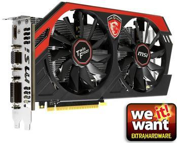 MSI N750Ti TF 2GD5/OC GAMING, TwinFrozr IV, GTX750Ti, 2GB GDDR5 - N750Ti TF 2GD5/OC Gaming