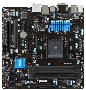 MSI A78M ,2xDDR3, GbLAN, mATX - A78M-E45 V2