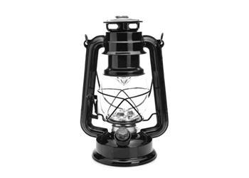 LED LAMPA MACTRONIC RETRO KEMPINGOVÁ - ČERNÁ - MC-15L-RETRO Černá