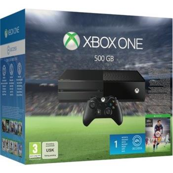 Microsoft XBOX ONE 500GB + (FIFA 16) + 1M EA Access - 5C7-00169