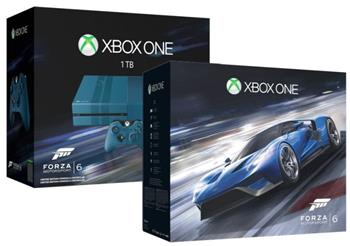 Microsoft XBOX ONE 1TB Blue Limited Edition + Forza Motorsport 6 - KF6-00038