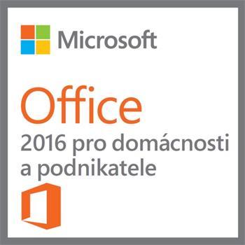 Microsoft Office pro podnikatele 2016 el.licence - T5D-02316