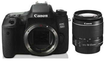 Canon EOS 760D body + Canon EF-S 18-55mm f/3,5-5,6 DC III - 760DkitDC