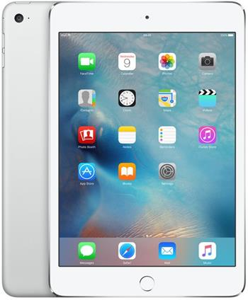 Apple iPad mini 4 Wi-Fi Cell 128GB Silver - MK772FD/A