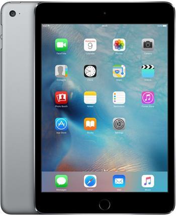 Apple iPad mini 4 Wi-Fi 16GB Space Gray - MK6J2FD/A