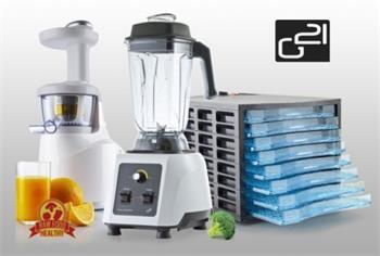 RAW set G21 Economy - Mixér, sušička, odšťavňovač - RAW set G21