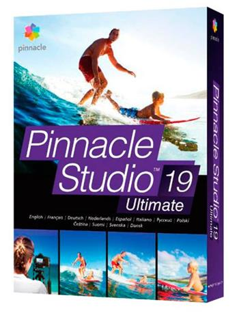 Pinnacle Studio 19 Ultimate, střihový software CZ - PNST19ULMLEU