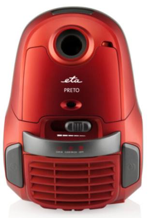 ETA 0487 90010 Preto sáčkový vysavač pro suché vysávání červený - 048790010