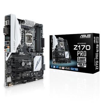 ASUS Z170-PRO Intel Z170, 1151, ATX - 90MB0M10-M0EAY0