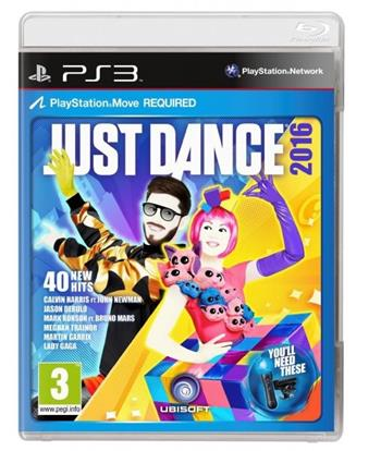 Just Dance 2016 PS3 - 3307215896990