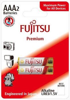 Fujitsu Premium Power alkalická baterie LR03/AAA, blistr 2ks - FU-LR03PP-2B