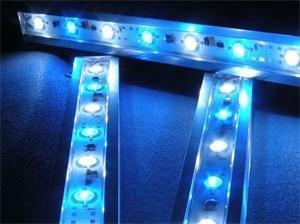 LED svítidlo Premium Line lighting pro akvária (Modrá/Bílá) vodotěsné - 34cm - 110700