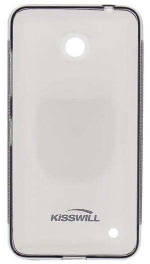 Kisswill TPU Pouzdro Transparent pro Lumia 640 - 8592118826945