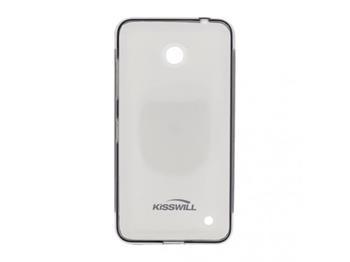 Kisswill TPU Pouzdro Black pro Nokia Lumia 640 - 8592118826938