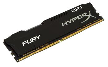 Kingston HyperX FURY Black Series 4GB 2400MHz DDR4 Non-ECC CL15 DIMM - HX424C15FB/4