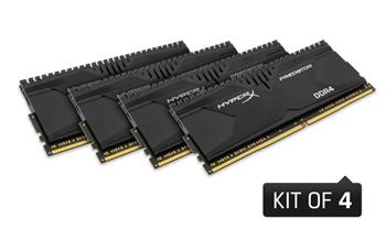 HyperX Predator 4x8GB 3000MHz DDR4 CL15 DIMM 1.35V, černý chladič - HX430C15PBK4/32