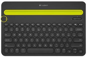 Logitech K480 Bluetooth Keyboard - US černá - 920-006366