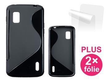 CONNECT IT S-COVER pro LG Nexus 4 (E960) ČERNÉ - CI-299