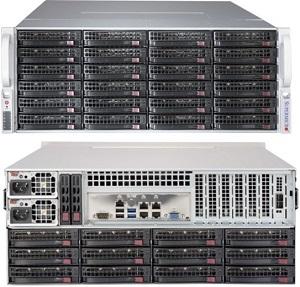 "SUPERMICRO 4U chassis 36x 3,5"" HS SAS3 (24x Front + 12x Rear, Sinlge exp. SAS3/12Gb - 2x(1 + 1) SFF-8643) ,2x1280W(Plat) - CSE-847BE1C-R1K28LPB"