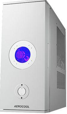 AEROCOOL CoolView, ATX/BTX bez zdroje, Stříbrná, USB2.0, Fir - ID012882