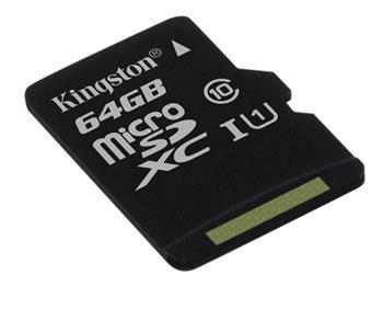 Kingston Micro SDXC karta 64GB Class 10 UHS-I - SDC10G2/64GBSP
