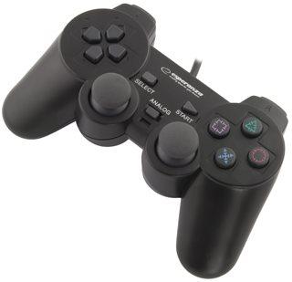 Esperanza EG106 CORSAIR gamepad s vibracemi pro PC/PS2/PS3, USB - EG106