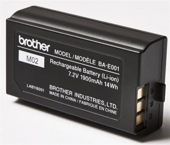 Brother Li-ion baterie pro PT - typ BAE001 - BAE001