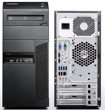 ThinkCentre M83/ i7-4790/ 4GB/ 500GB/ DVDRW/ tower/ W7PRO+W8.1PRO - 10BE002AMC