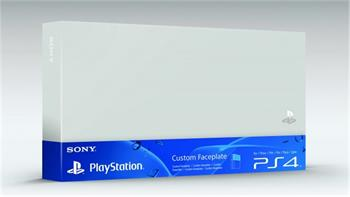 PS4 - HDD cover - barevný kryt pro PS4 - Silver - PS719846949