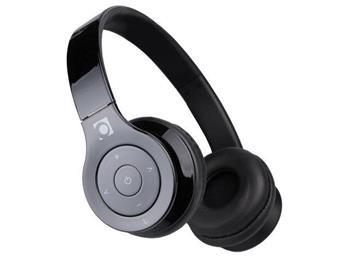 Gembird Bluetooth stereo sluchátka, mikrofon, černá barva - BHP-BER-BK
