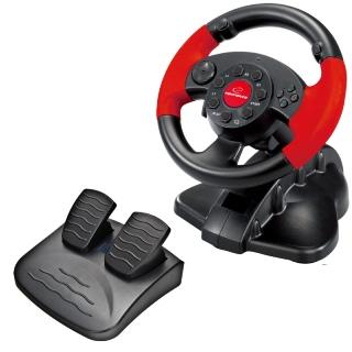 Esperanza EG103 HIGH OCTANE herní volant s vibracemi pro PC/PS2/PS3 - EG103