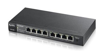 ZyXEL Switch, Gigabit, 8-Port, 4-POE - GS1100-8HP-EU0101F