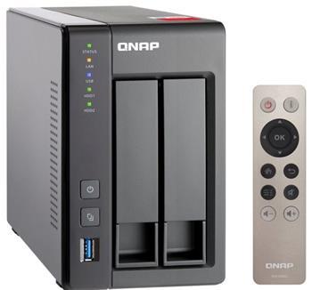 QNAP TS-251+-8G (2,0GHz/8GB RAM/2xSATA) - TS-251+-8G