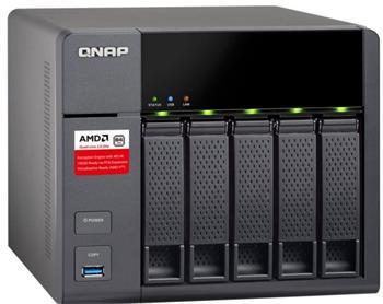 QNAP TS-563-8G (2,0G/8GB RAM/5xSATA) - TS-563-8G