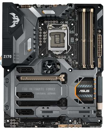 ASUS SABERTOOTH Z170 MARK 1 Intel Z170, 1151, ATX - 90MB0MG0-M0EAY0