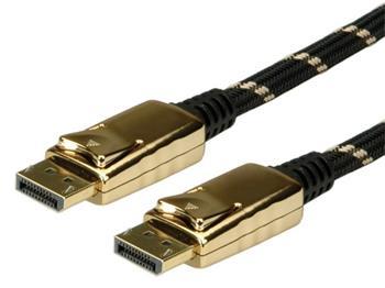 Roline Gold DisplayPort kabel, DP(M) - DP(M), 2m - 11.04.5645