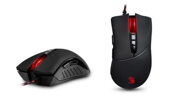Myš A4tech BLOODY V3, Core2, kovové pojezdy - V3M