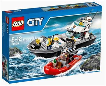 LEGO City - Policejní hlídková loď 60129 - 60129