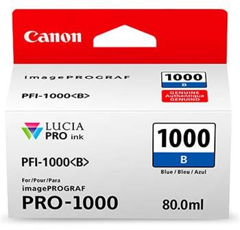 Canon cartridge PFI-1000B Blue Ink Tank - 0555C001