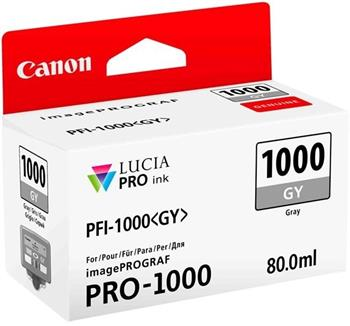 Canon cartridge PFI-1000GY Grey Ink Tank - 0552C001